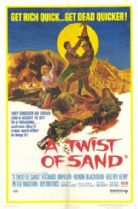 A Twist of Sand 1968 DVD - Richard Johnson / Honor Blackman